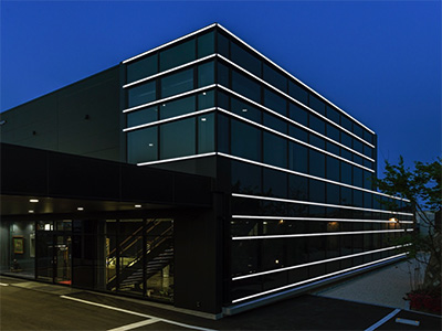 ALBEAM Curtain Wall 施工例 その2